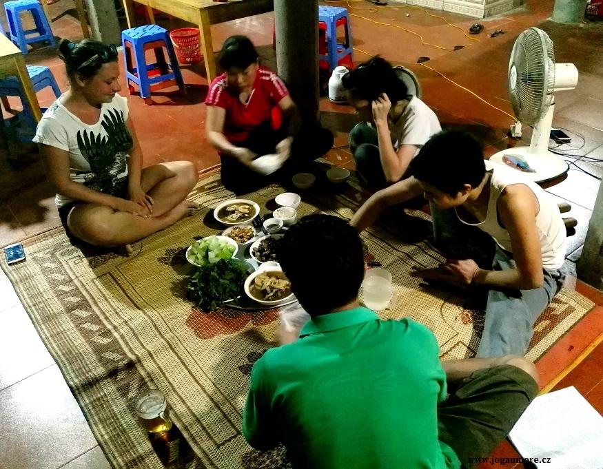 malajská večeře